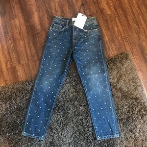 NWT CURRENT/ELLIOT STUDDED JEANS